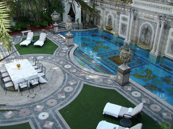 versace mansion wedding