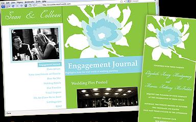 The Best Personal Wedding Websites