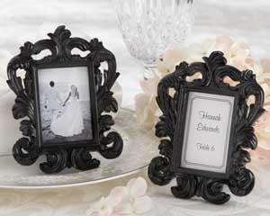 Double Duty Reception Decor: Frames