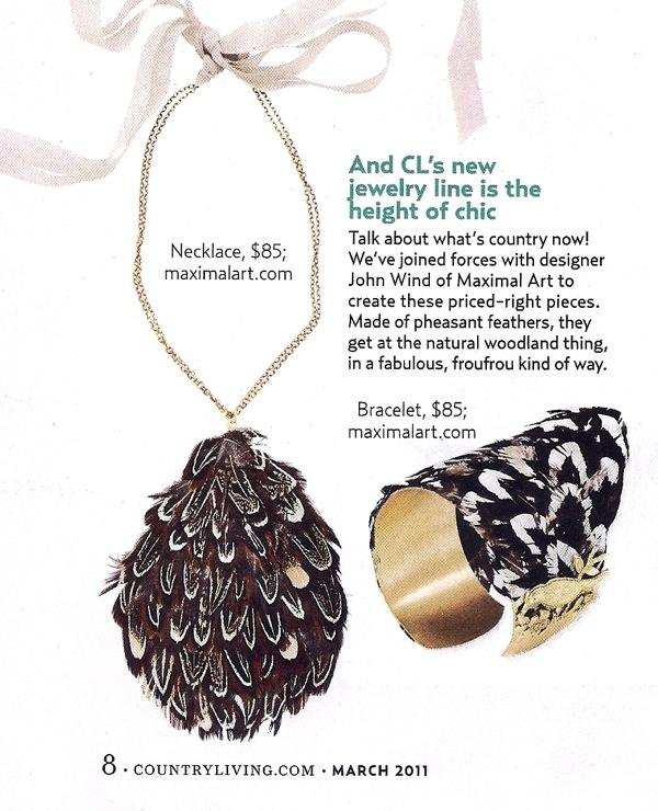 Bridal Jewelry: Feather Necklace and Cuff