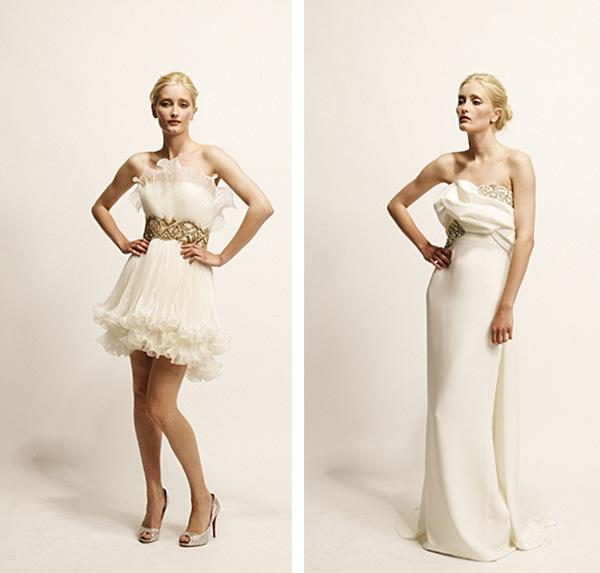 Marchesa Wedding Gowns 2011. Wedding Dress Designer: