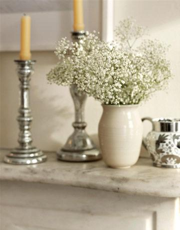 Budget Centerpieces: Baby's Breath