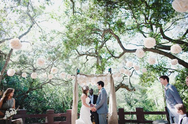outdoor wedding venues in orange county Woman Getting Married