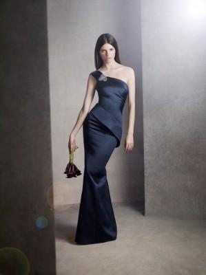White Vera Wang Evening Dresses