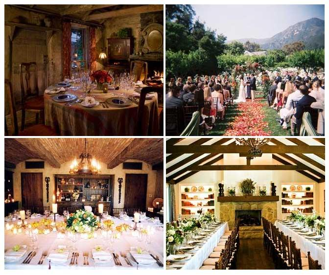 san ysidro ranch wedding cost