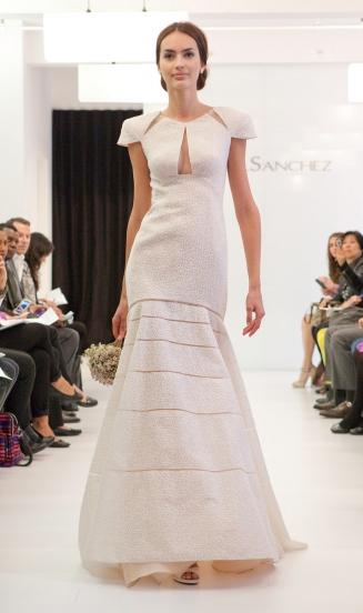 Wedding Dress Designer: Angel Sanchez | Woman Getting Married