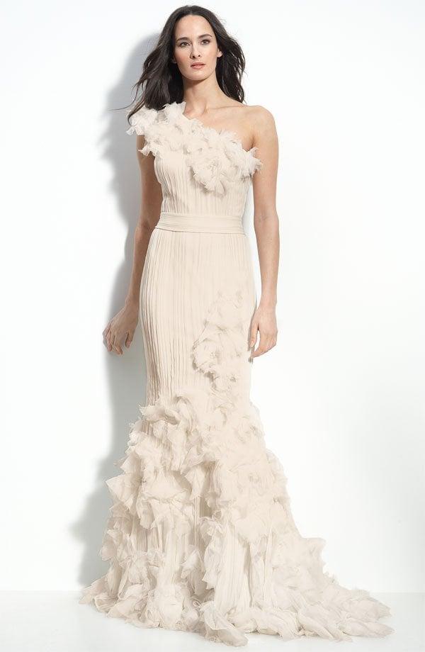 Wedding Dresses Under $1,000: Tadashi Shoji +Robert Rodriguez