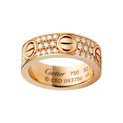 rings replica love cartier ring