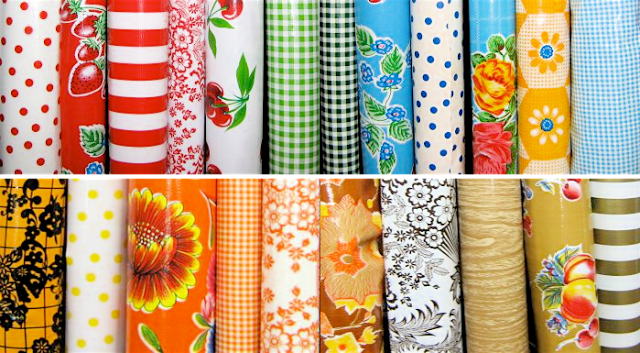 Wedding Table Essentials: Oilcloth