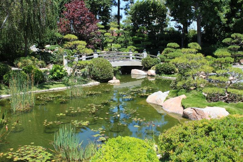 Earl Burns Miller Japanese Garden Wedding Venue