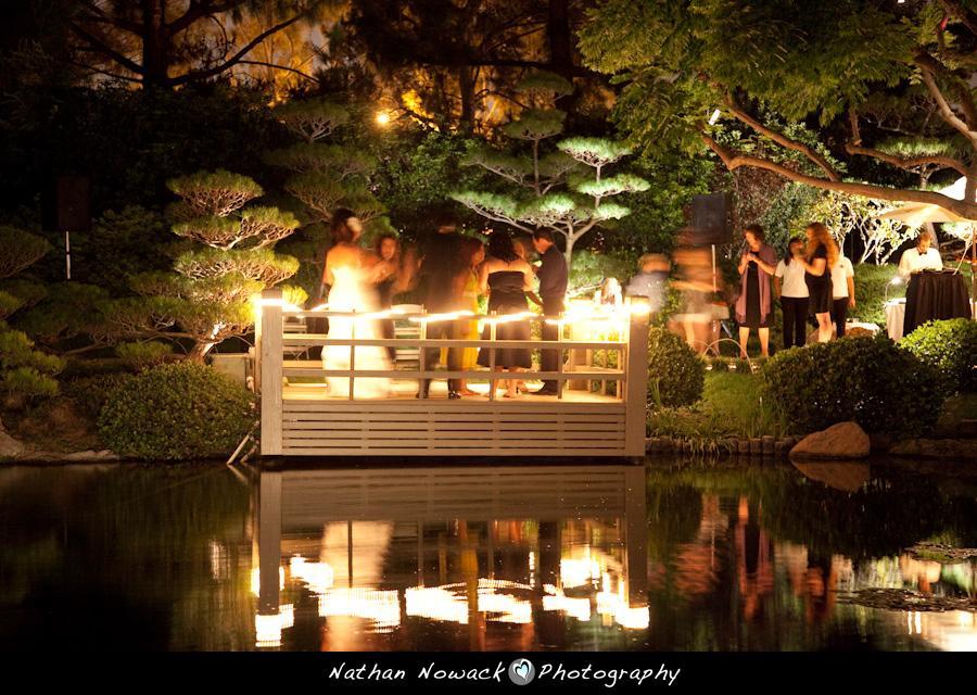 Earl burns miller japanese garden wedding venue for Japanese themed garden