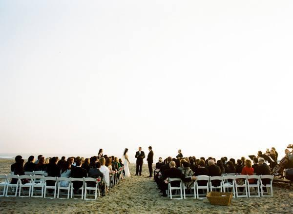 beach ceremony santa monica