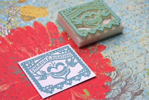 Fun Ways to Use Custom Wedding Stamps