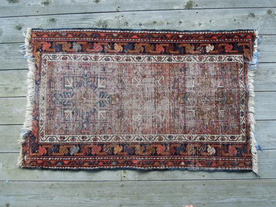 vintage kilim rug wedding