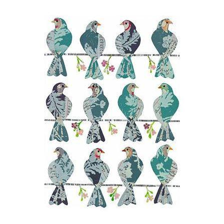 doves removable wall decal