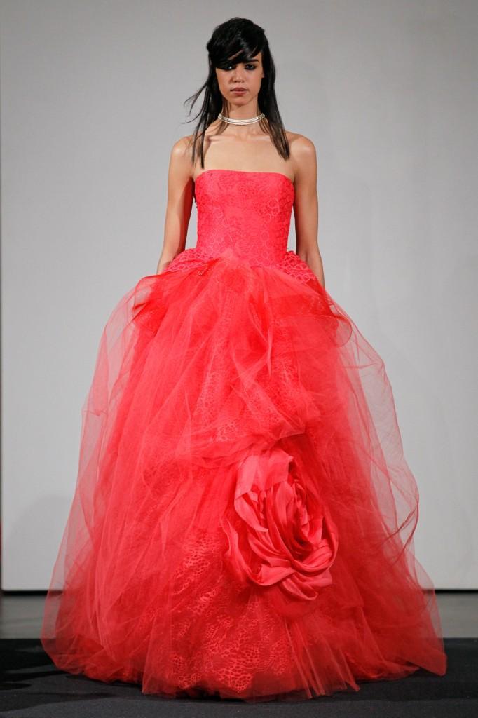 Vera Wang Fall 2014 Bridal Collection