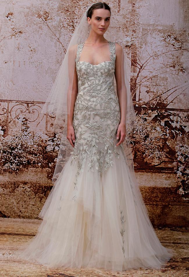 Monique Lhuillier Fall 2014 Bridal Collection
