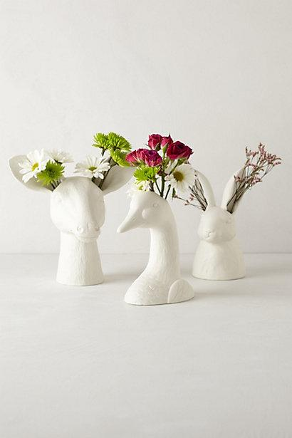Animal Flower Vases Woman Getting Married