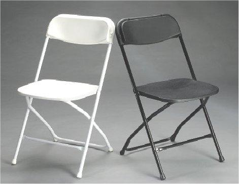 plastic folding chair wedding