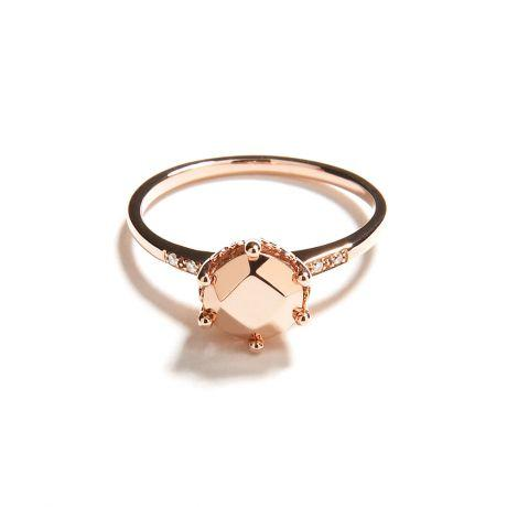 Anna Sheffield Hazeline Solitaire Ring, $1,100