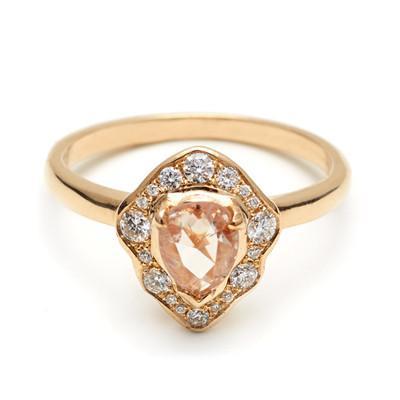 Anna Sheffield Camellia Petal Ring, $5,250