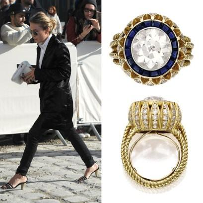 mary kate olsen engagement ring cartier vintage