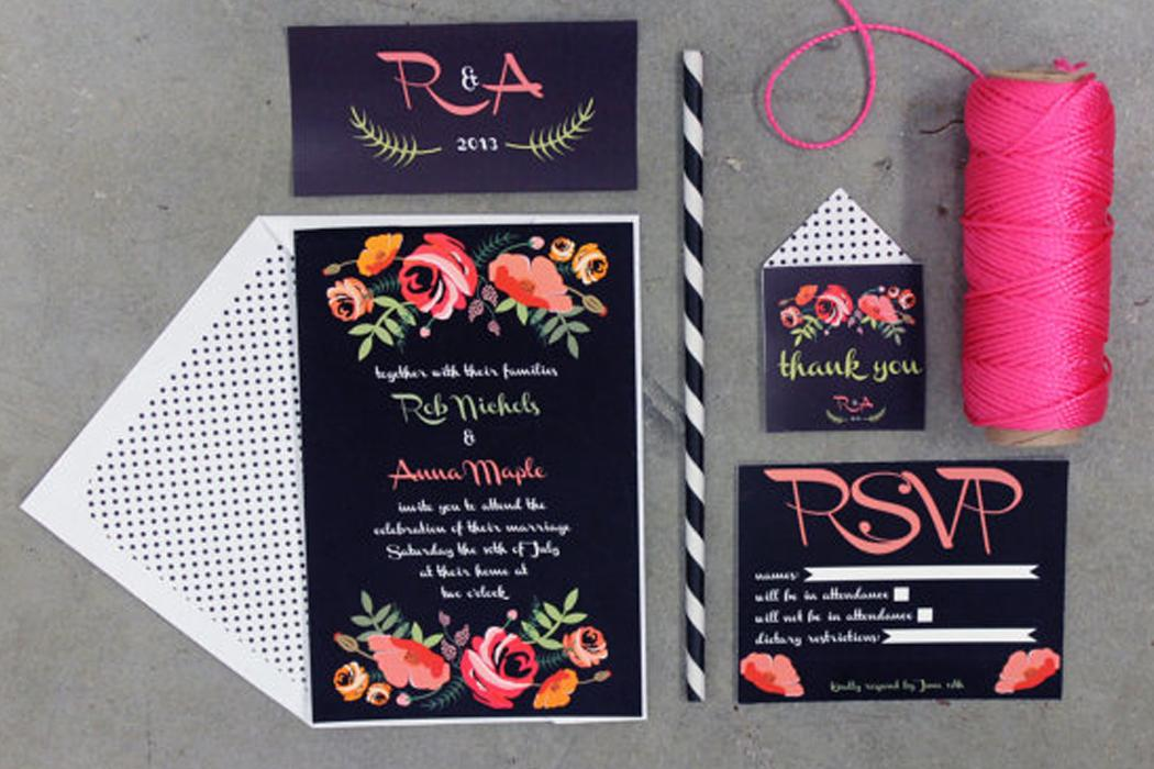 Everything You Need to Know About Printable Wedding Invites