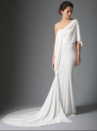 wedding dress greek