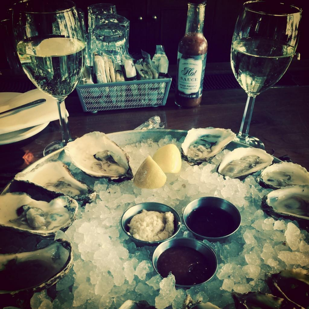 Oysters at Amen Street