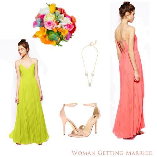 Bridesmaid Pick: ASOS Cami Pleated Maxi Dress
