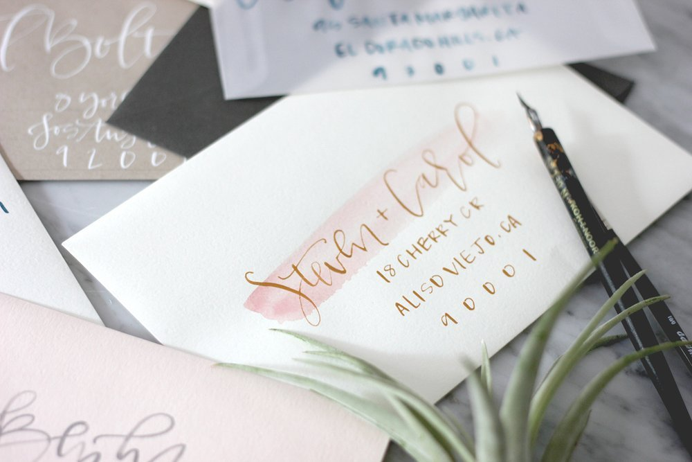 How To Write On Envelope For Wedding Invitations