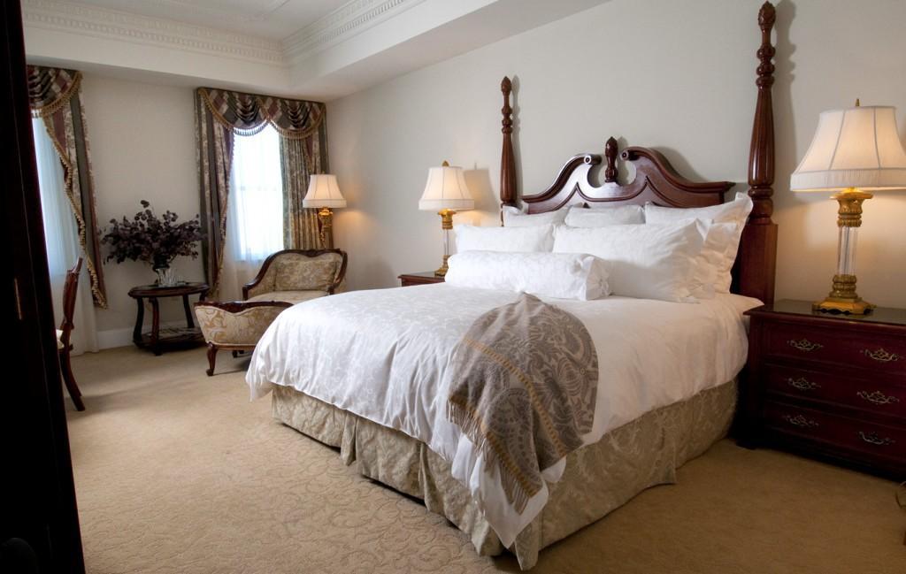 A king room at the Market Pavillion hotel
