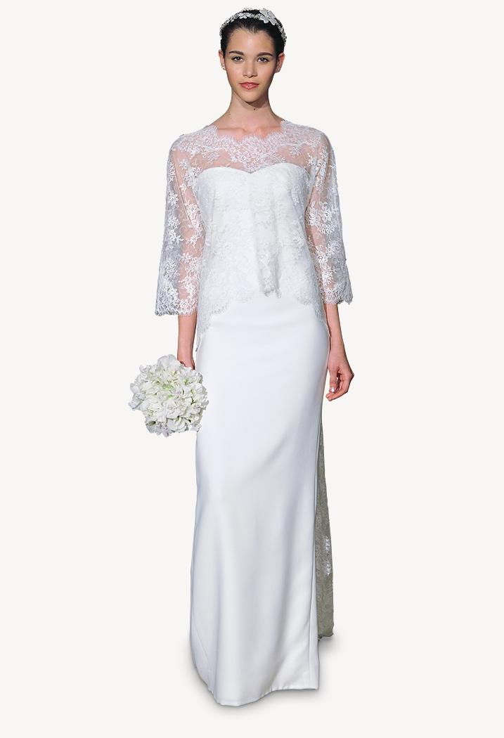 Carolina Herrera Spring 2015 Bridal Collection, Carolina dress