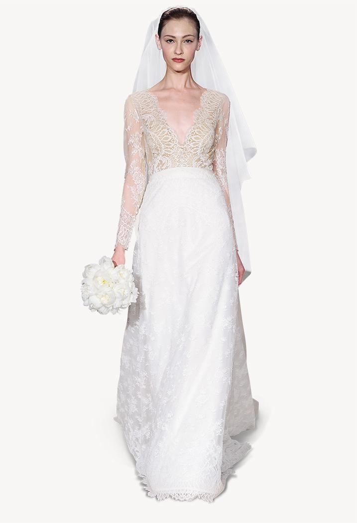 Carolina Herrera Spring 2015 Bridal Collection, Claudette dress