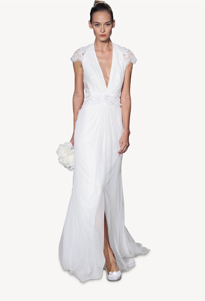 Carolina Herrera Spring 2015 Bridal Collection, Cassidy dress