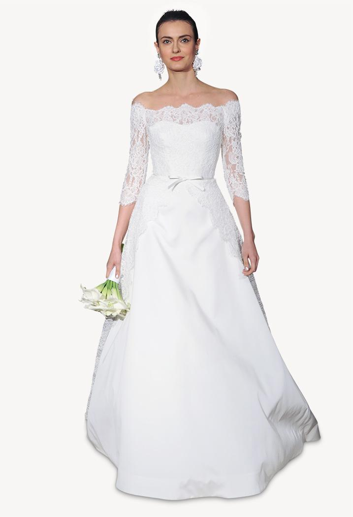 How Much a Carolina Herrera Wedding Dress Will Cost You