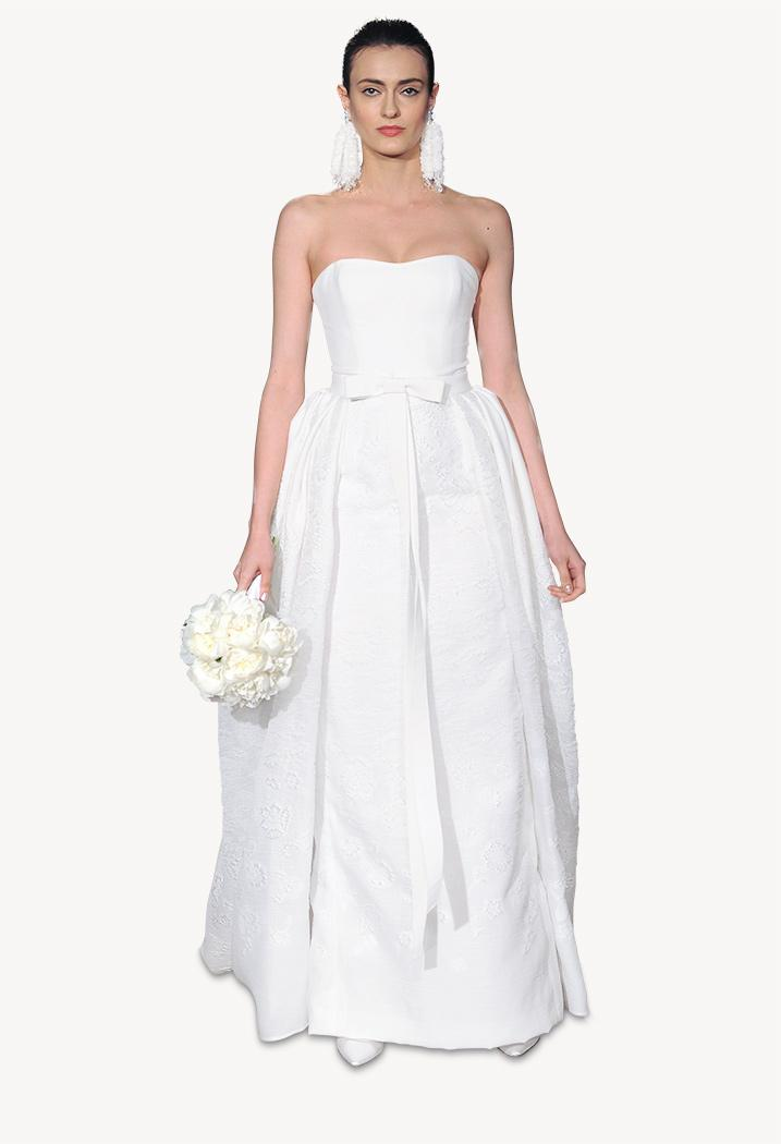 How much a carolina herrera wedding dress will cost you for How much to clean and preserve a wedding dress