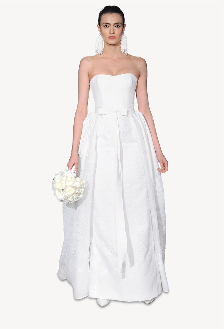 Carolina Herrera Spring 2015 Bridal Collection, Catherine dress