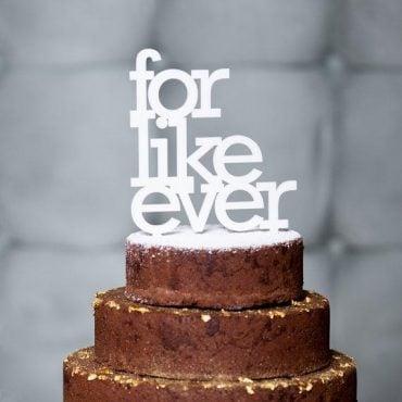 wedding cake topper like