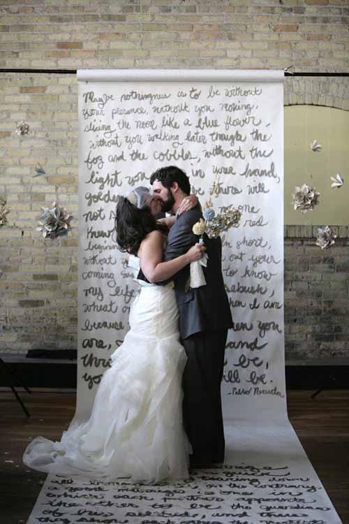 12 and creative wedding ceremony backdrops