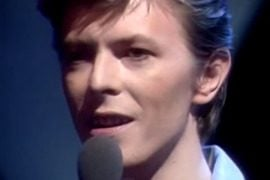david bowie wedding song