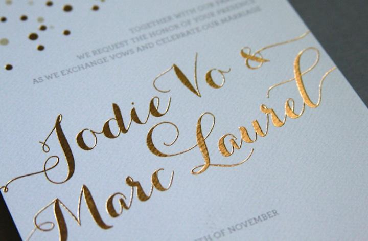 a guide to wedding invitation printing techniques woman getting