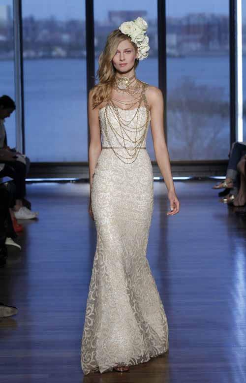 Sahara dress from the Ines Di Santo Spring/Summer 2015 collection