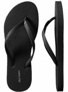 Women's Classic Flip-Flops - Black