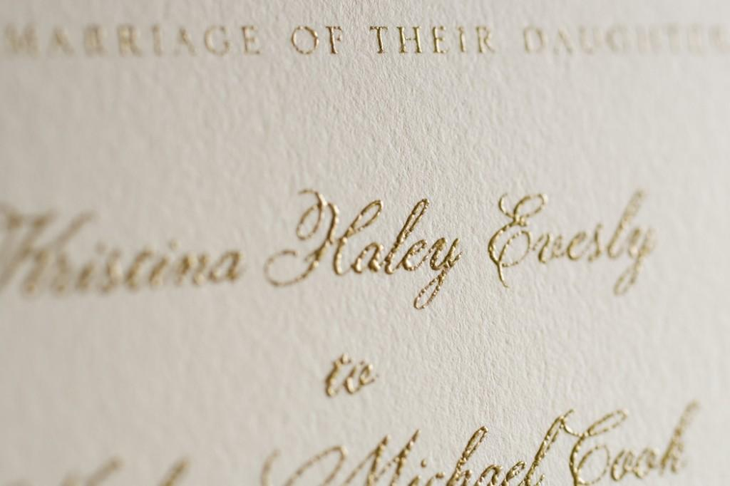 A Guide to Wedding Invitation Printing Techniques | Woman Getting ...