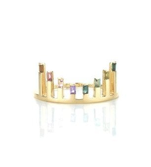 Gold Celestial Sunset Ring by Ruifier, $1,040