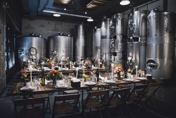 Wedding venue review the brooklyn winery in ny best brooklyn wedding vneues junglespirit Images