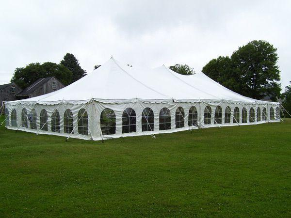 pole-tent-wedding-cost & How Much Do Wedding Tents Cost? | Woman Getting Married