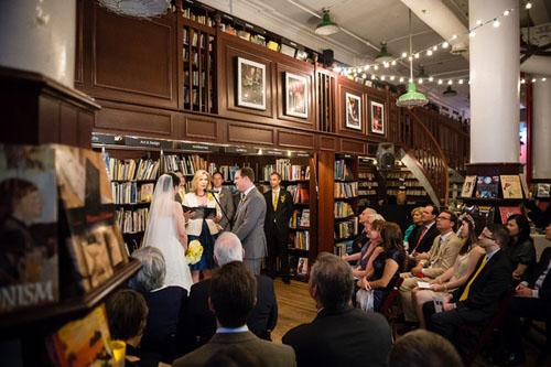 Wedding Venue The Housing Works Bookstore