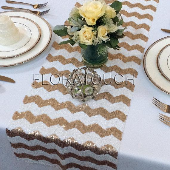 sequin-table-runner-wedding